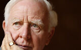 Author John Le Carre, real name David Cornwell at his home in London, Thursday, Aug. 28, 2008. (AP Photo/Kirsty Wigglesworth)