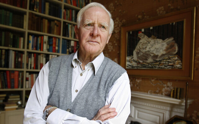 Author John Le Carre, real name David Cornwell, is seen, at his home in London, Thursday, Aug. 28, 2008. (AP Photo/Kirsty Wigglesworth)