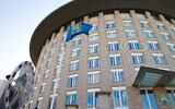 This March 21, 2018 file photo shows the headquarters of the Organization for the Prohibition of Chemical Weapons (OPCW) in The Hague, Netherlands (AP Photo/Peter Dejong, File)