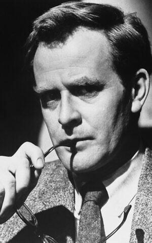British author John Le Carre is shown, Oct. 9, 1965. (AP Photo)