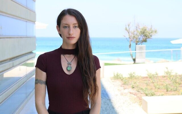 Alexandra Cohen, Sustainability and Government graduate of IDC Herzliya, Founder of Hydria Water Innovations (photo courtesy of the Peres Center for Peace and Innovation)