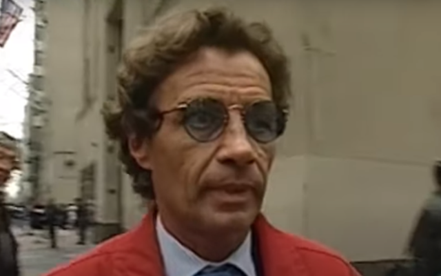 Jean-Luc Brunel (Screen capture: YouTube)