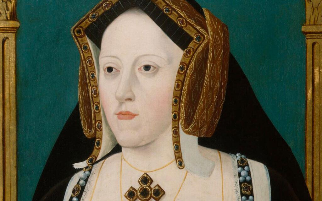 Catherine of Aragon (public domain via Wikipedia)