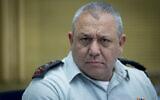 IDF chief of staff Gadi Eisenkot attends a Knesset committee meeting on August 16, 2016. (Yonatan Sindel/Flash90)