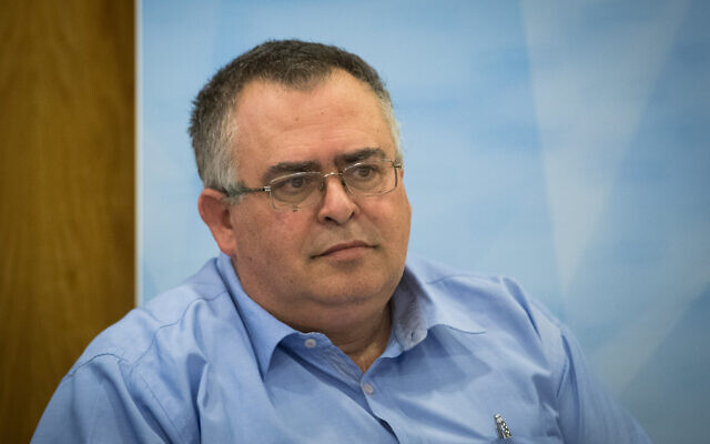 Likud MK David Bitan at a committee in the Knesset, in Jerusalem, on July 31, 2019. (Yonatan Sindel/Flash90)