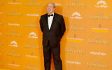 """Hans Zimmer at the European premiere of """"The Lion King"""" in London, July 14, 2019. (David M. Benett/Wire Image/Getty Images)"""