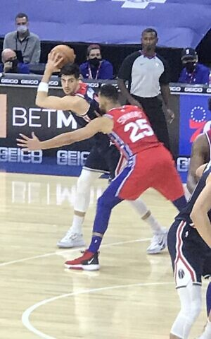 Dream Come True As Israeli Deni Avdija Makes Nba Debut With Wizards The Times Of Israel