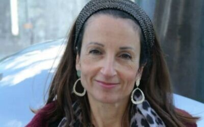 Esther Horgen, 52, who was found dead in the northern West Bank in a suspected terror attack on December 20, 2020. (Courtesy)