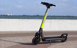The LINK scooter, developed by US firm Superpedestrian, is touted as the industry's first and only e-scooter with intelligence on board (Courtesy)