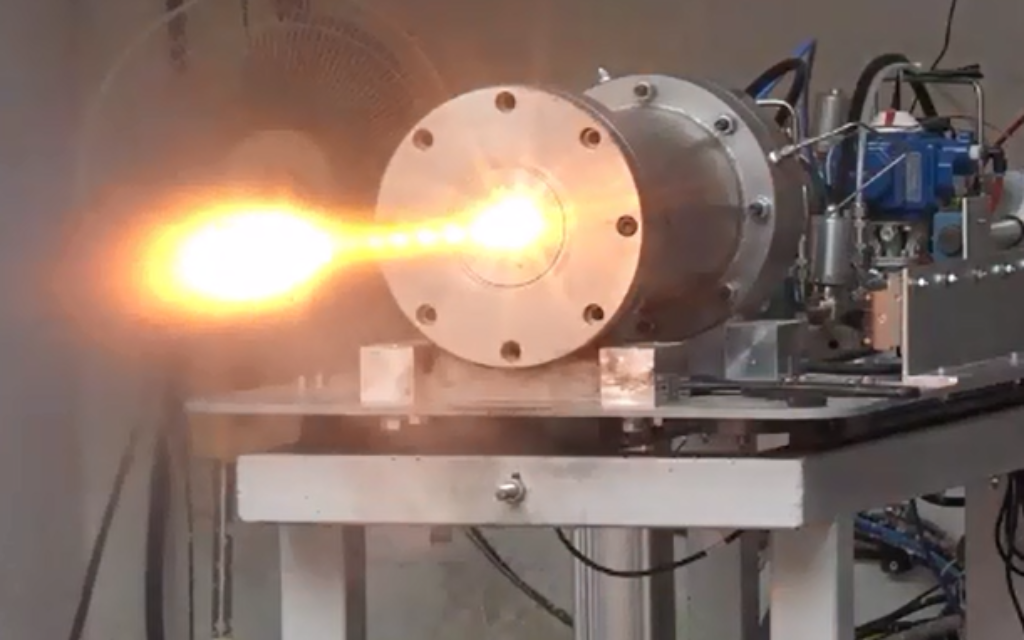 Startup unveils 'new generation' rocket engines with 'PowerGel' fuel - The Times of Israel