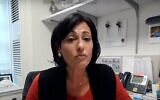 Screen capture from video of Rochelle Walensky, chief of the infectious diseases division at Massachusetts General Hospital. (YouTube)