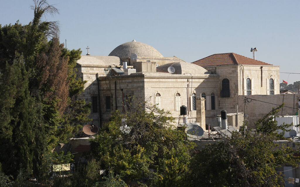 Part of the Armenian compound in Jerusalem's Old City. Armenia was the first nation to officially accept Christianity, in the year 301, and Armenians have been in Jerusalem since. (Shmuel Bar-Am)
