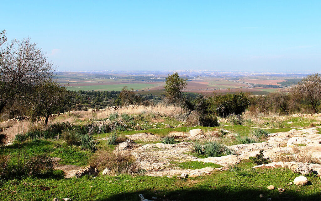 A view of the Ayalon Valley, believed to be the site of ancient battles between the Maccabees and Greeks. (Shmuel Bar-Am)