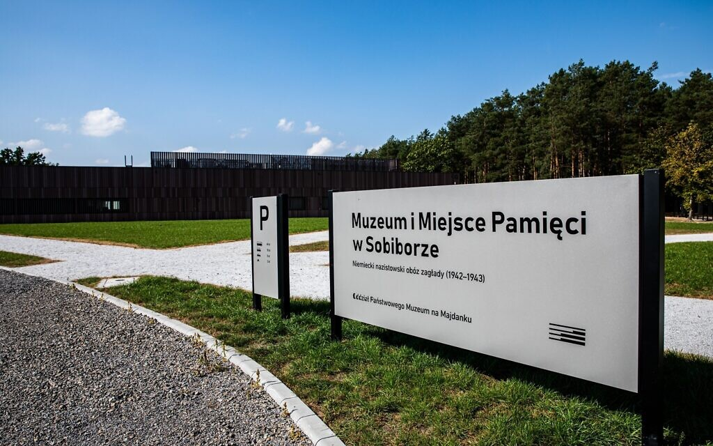 Museum at Sobibor in Poland, inaugurated in October 2020 (courtesy: State Museum at Majdanek)