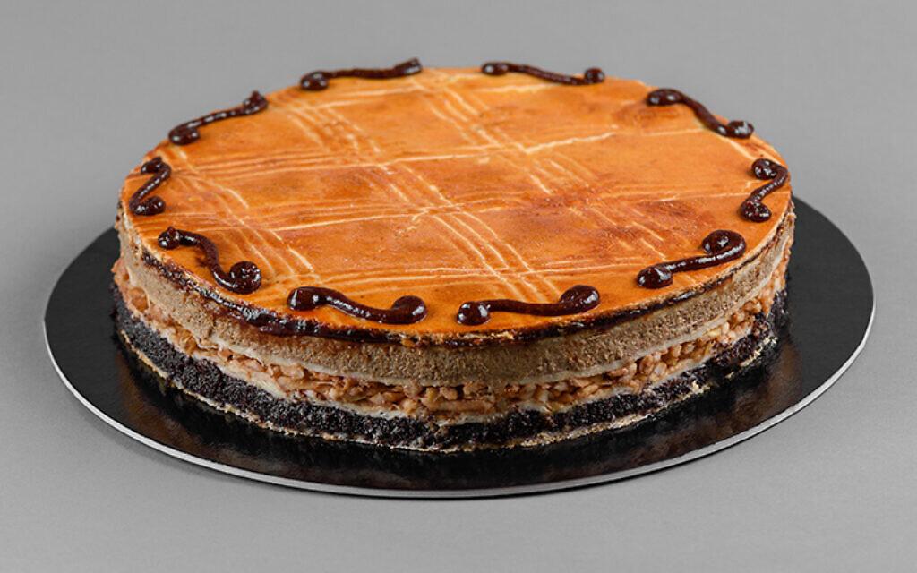 Rachel Raj's famous flodni, in full cake form. (Courtesy)