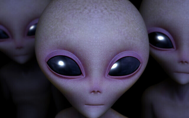 An artist's image of aliens (bertos via iStock by Getty Images)