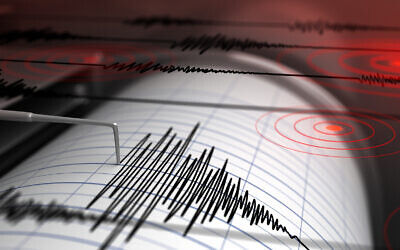 Illustrative: A seismograph detects an earthquake (Petrovich9; iStock by Getty Images)
