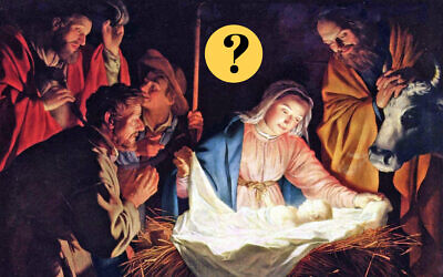 Gerard van Honthorst, 'Adoration of the Shepherds,' 1622. 'The Bible With and Without Jesus' looks at verses that can be interpreted to predict Jesus's birth. (Public domain)