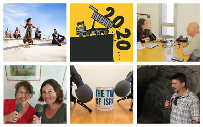 The Times of Israel Podcast presents the Best of 2020. (Images courtesy/ iStock photo)