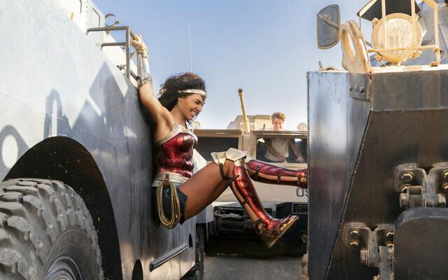 Gal Gadot in 'Wonder Woman 84.' (Courtesy Warner Bros. Films)