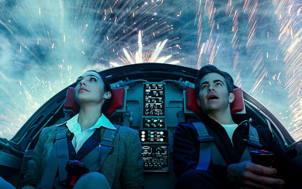 Gal Gadot and Chris Pine in 'Wonder Woman 84.' (Courtesy Warner Bros. Films)