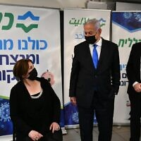 Prime Minister Benjamin Netanyahu visits Nazareth on January 13, 2021 (courtesy: PMO)