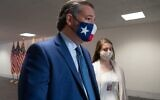In this file photo taken on November 10, 2020 US Senator Ted Cruz, Republican of Texas, arrives for the weekly Senate Republican lunch on Capitol Hill in Washington, DC. (SAUL LOEB / AFP)