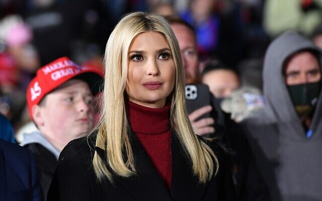 Ivanka Trump listens during a campaign rally in Dalton, Georgia, on January 4, 2021. (Mandel Ngan/AFP)