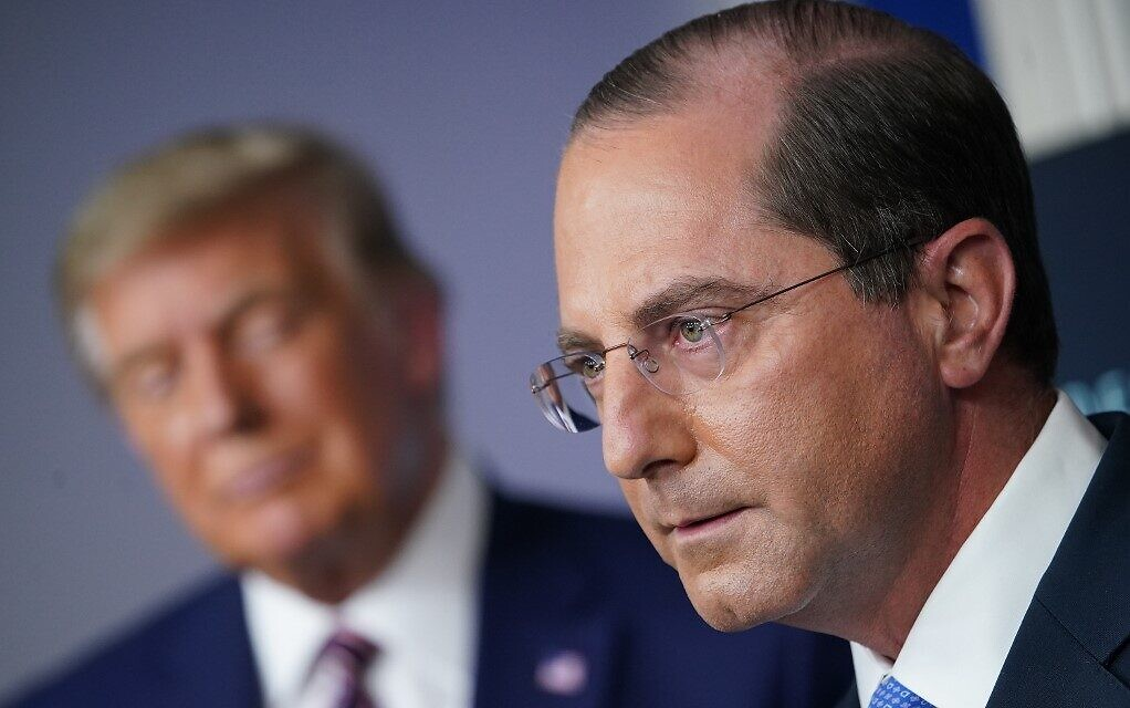 Alex Azar resigns as Health and Human Services Secretary, citing Capitol mob