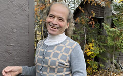 Raphael Gribetz at his home in Presque Isle, Maine. (Janine Strong/ via JTA)