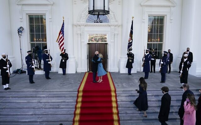 Biden enters White House as 46th US President  | The Times of Israel