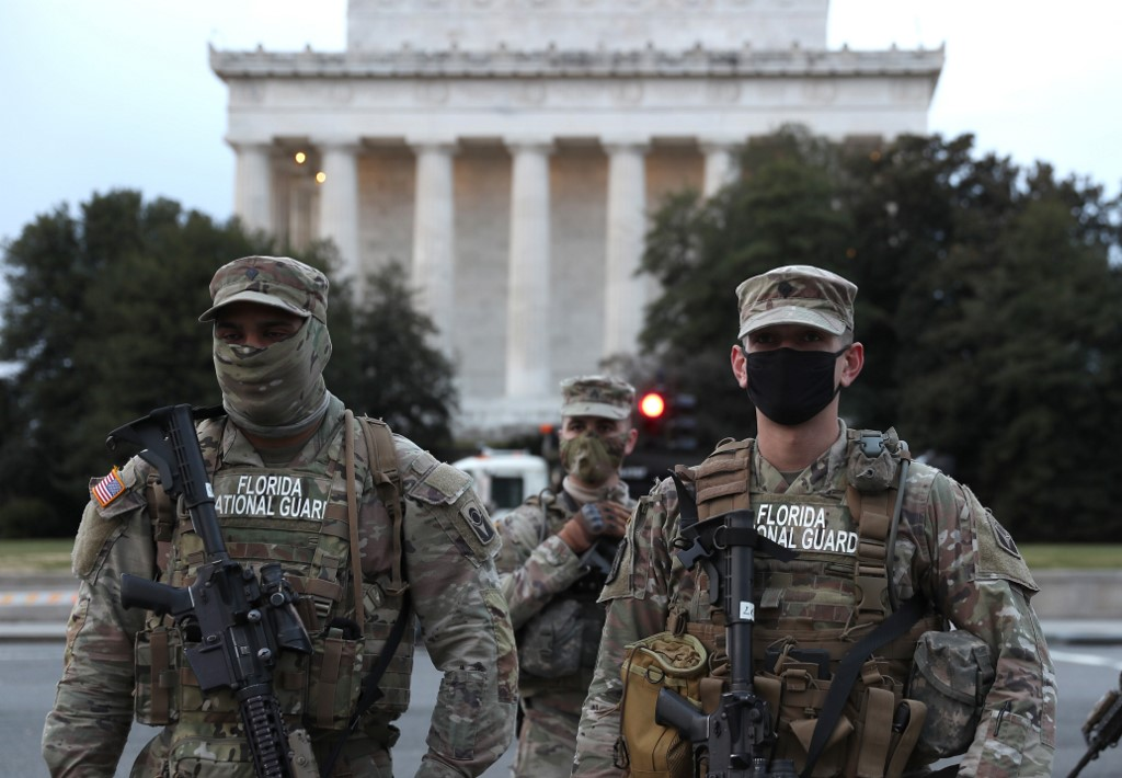 Heavily armed man arrested in DC while trying to access inauguration area