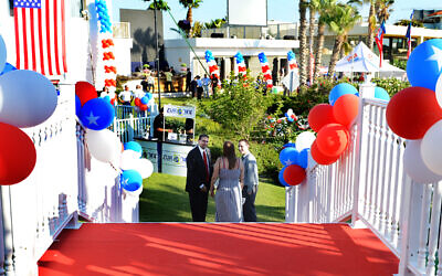 The US ambassador's residence ahead of a Fourth of July party in 2013. (US Embassy)