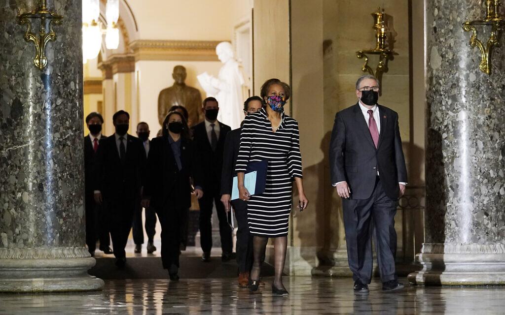 Democrats file second impeachment against Trump in Senate ahead of trial