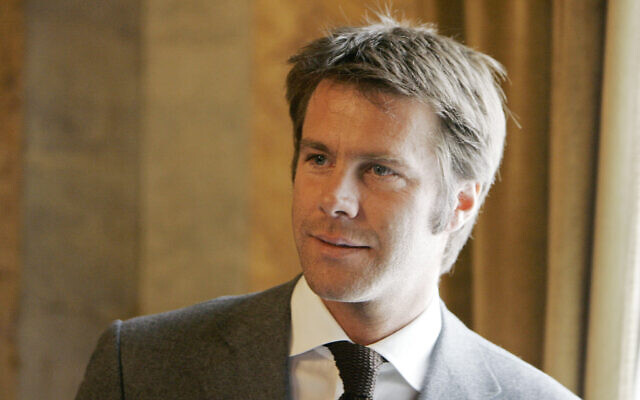 Prince Emanuele Filiberto arrives for a press conference in Milan, Italy, March 13, 2008. (AP Photo/Antonio Calanni, File)