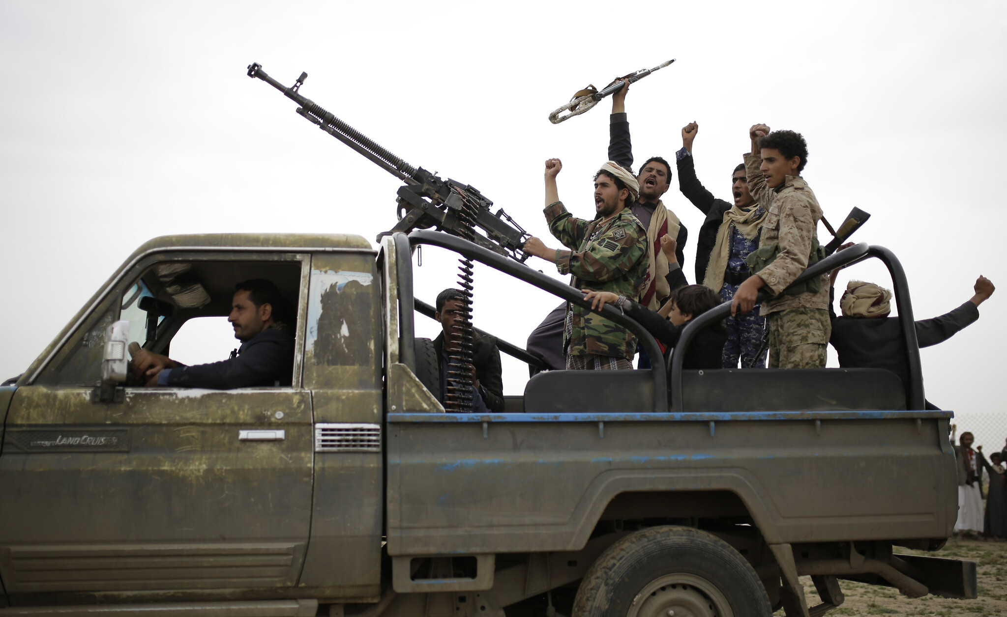 Aid group: U.S. terrorism designation for Yemen rebels a blow