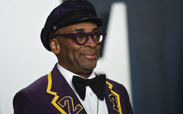 Spike Lee arrives at the Vanity Fair Oscar Party on Sunday, Feb. 9, 2020, in Beverly Hills, Calif. (Evan Agostini/Invision/AP)