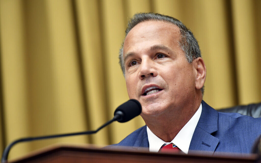 Rep. David Cicilline, D-R.I., speaks during a House Judiciary subcommittee hearing on antitrust on Capitol Hill in a Wednesday, July 29, 2020 file photo, in Washington.  (Mandel Ngan/Pool via AP)