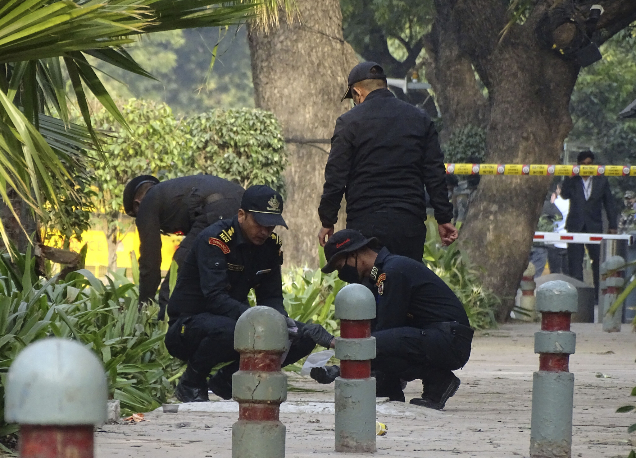 Small explosion caused by 'device' near Israeli Embassy in New Delhi