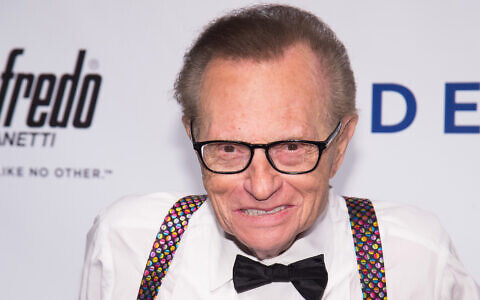 Larry King attends the Friars Club Entertainment Icon Award ceremony honoring Martin Scorsese at Cipriani Wall Street on Wednesday, Sept. 21, 2016, in New York. (Charles Sykes/Invision/AP)
