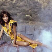 Tanya Roberts stars as Kiri in the adventure movie The Beastmaster, December 16, 1981. (AP Photo/Wally Fong)