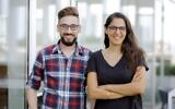 Basil Hawari (left) and Afaf Shehab, co-founders of Petwork (Courtesy)