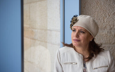 Jerusalem Deputy Mayor Hagit Moshe, at the Jerusalem municipality. May 03, 2016 (Miriam Alster/FLASH90)