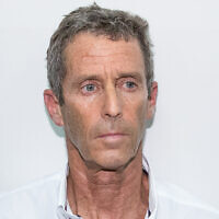 Israeli businessman Beny Steinmetz at the Rishon Lezion Magistrate's Court on August 14, 2017. (Flash90)
