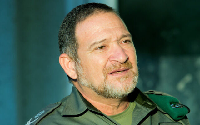 Kobi Shabtai, incoming acting police chief, in a file photo from September 28, 2017 (Moshe Shai/Flash90)