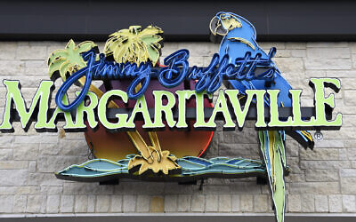 A Jimmy Buffett's Margaritaville restaurant in downtown San Antonio, Texas. (Photo by Robert Alexander/Getty Images via JTA)