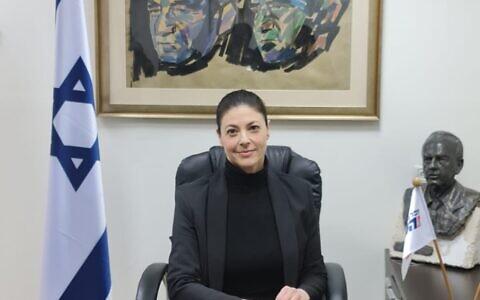 Merav Michaeli, leader of the Labor Party (Courtesy)