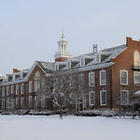 Illustrative -- The Maryland Hall at Johns Hopkins University in Baltimore, Maryland on Jan. 12, 2011 (Wikimedia Commons)