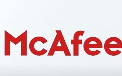 The McAfee logo (YouTube Screenshot)