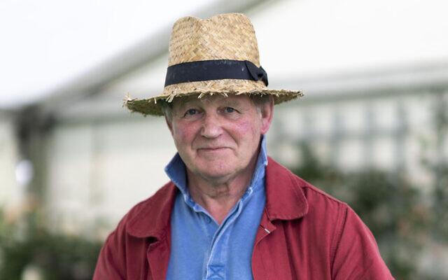 British author Michael Morpurgo, seen in 2019. (David Levenson/Getty Images via JTA)